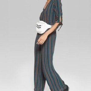 Wild Fable Striped Jumpsuit
